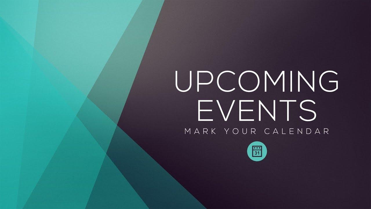 Announcements Sep 13 - 19, 2020